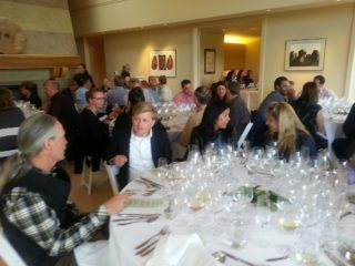 Anderson Valley Pinot Noir Festival dinner at Scharffenberger with Tex Sawyer