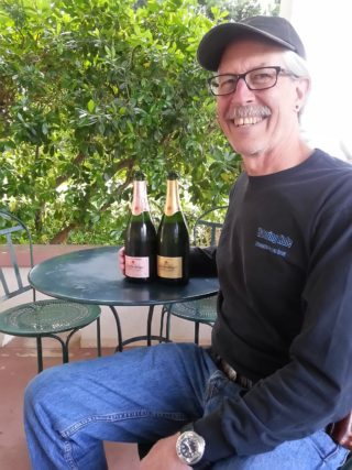 Anderson Valley Scharffenberger winemaker Tex Sawyer
